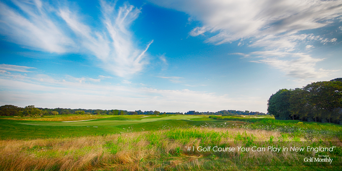 A Rough Section Of The Fairway On A Golf Course At Newport National Golf Club In Middletown, RI