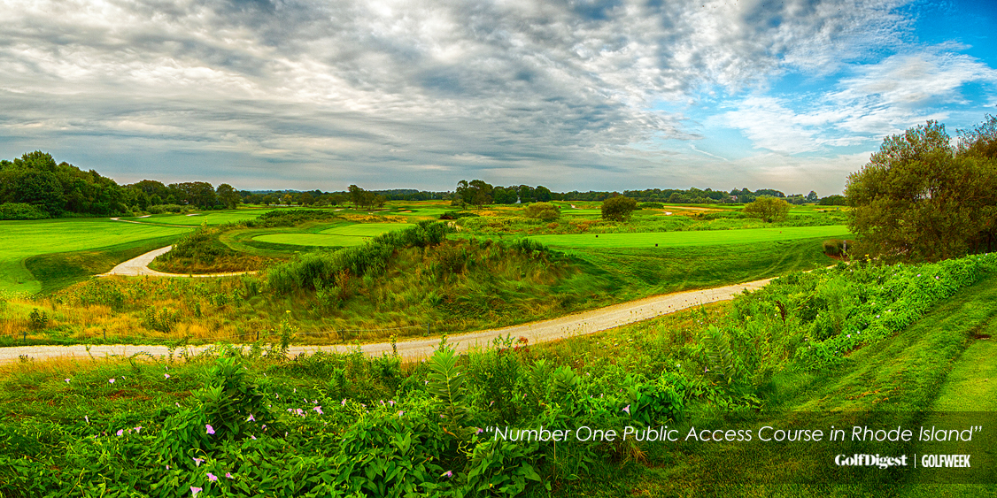 A Scenic Golf Course Where You Can Take Golf Lessons At Newport National Golf Club In Middletown, RI
