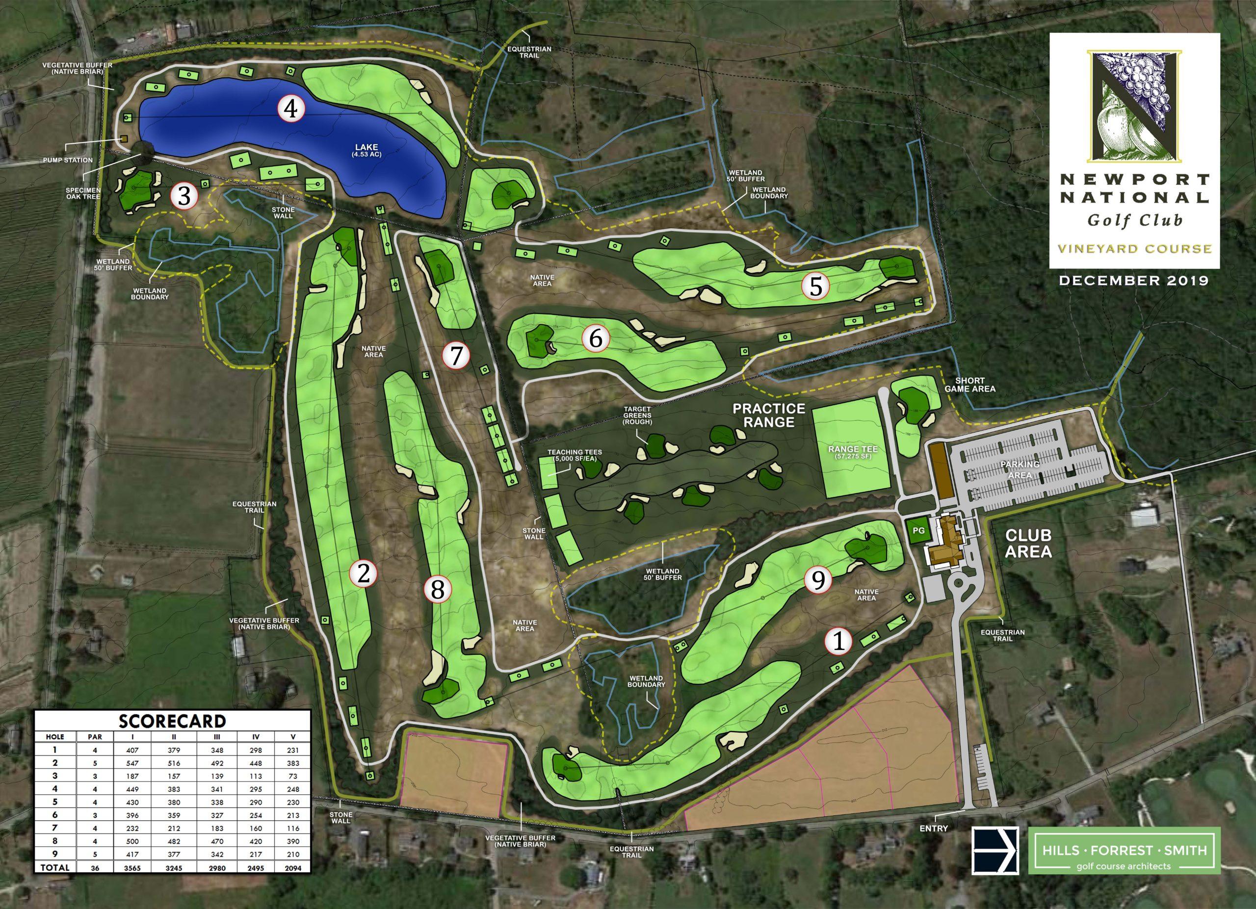 Vineyard Course 9 Holes at Newport National Golf Club